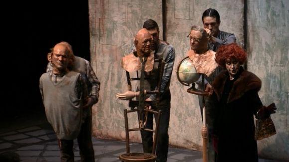 El desig de venjança de 'La visita de la vella dama' omple la Sala-Escenari del Teatre-Auditori