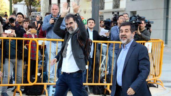 L'ACN i Òmnium reclamen l'alliberament de Sànchez i Cuixart / Foto: ACN