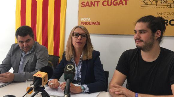 ERC-MES exigeix a l'alcaldessa que trenqui l'acord de govern amb el PSC 'per dignitat'