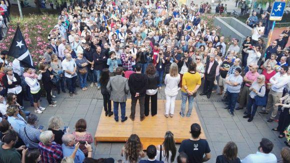 L'ANC fa una crida a concentrar-se aquest dijous davant l'ajuntament per l'alliberament dels 'Jordis'