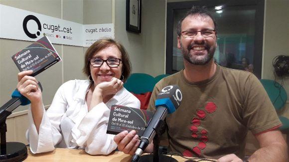 Blanca de la Torre i Joan Àngel de la Peña han presentat les activitats al magazín