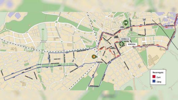 Afectacions al trànsit aquest cap de setmana per la 9a Cursa DIR Mossos d'Esquadra Sant Cugat