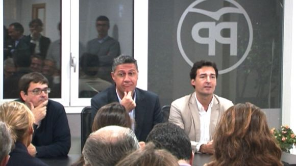 Albiol, a Sant Cugat: 'La revolució dels somriures és gent cridant, insultat i faltant el respecte'
