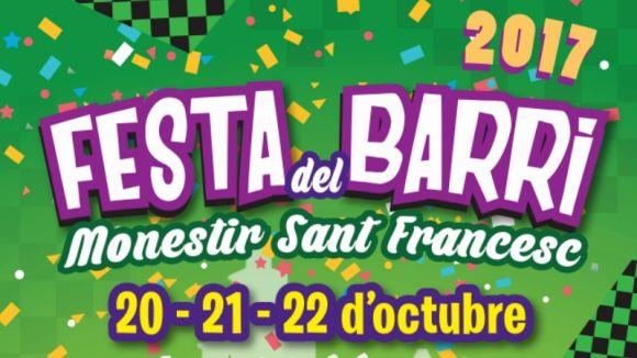 Detall del cartell de la festa