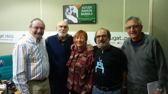 El Grup de Teatre Espiral visita el 'Molta Comèdia' per parlar de la Mostra de Teatre de Valldoreix