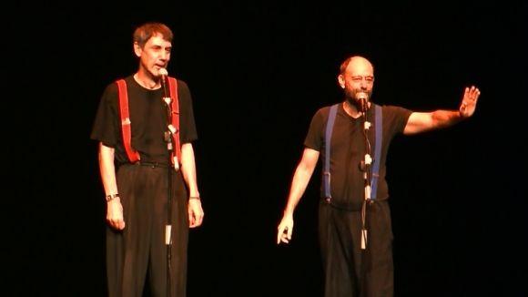 Els artistes Faemino y Cansado omplen de rialles el Teatre-Auditori amb el seu humor més irònic