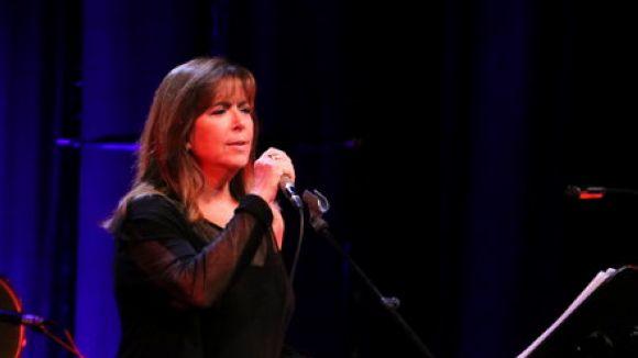 La cantant, al Liceu en el concert '50 anys d'Escenaris' / Foto: ACN