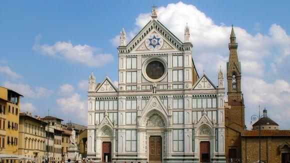 Un santcugatenc mor a Florència en caure-li al cap una pedra de l'església de Santa Croce