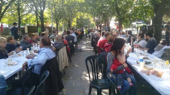La paella popular ha estat una des les activitats de cloenda de la festa grossa