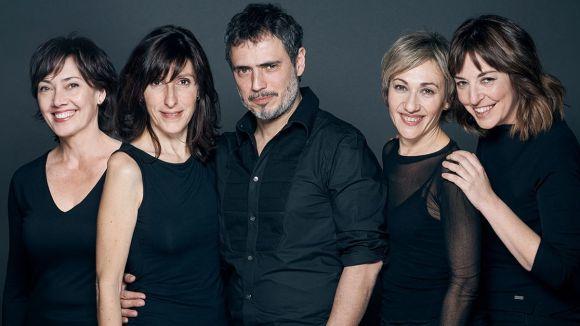 T de Teatre celebra aquest divendres 25 anys de vida amb 'E.V.A.' al Teatre-Auditori