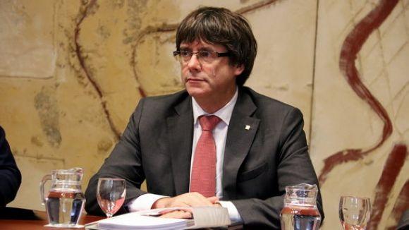 Puigdemont torna a tenir sobre la taula la possibilitat de convocar eleccions / Foto: ACN