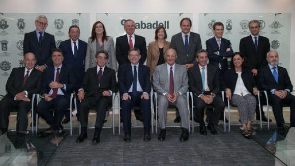 Primer consell d'administració a Alacant / Foto: ACN