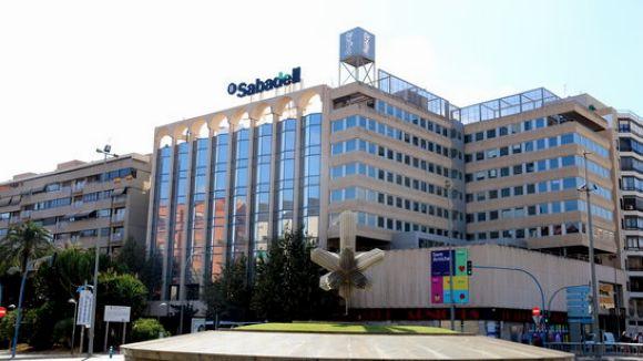 El Sabadell guanya 654 milions fins al tercer trimestre, l'1% més que en el mateix període del 2016