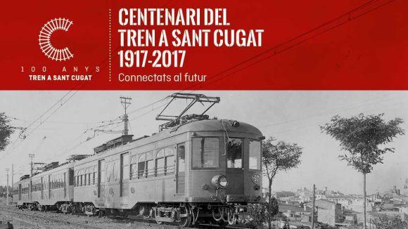 Conferència: 'Cent anys del tren a Sant Cugat: un ferrocarril americà al cor de Catalunya'