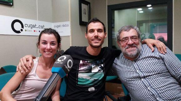 D'esquerra a dreta, Mònica Vega, Àngel Bellver i Ignasi López