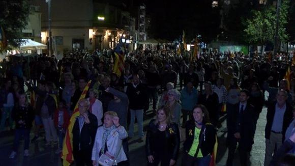 Mig miler de persones s'aplega a Octavià per 'donar la benvinguda' a la República