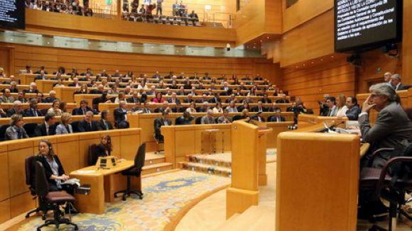 Vistiplau del Senat al govern per aplicar el 155