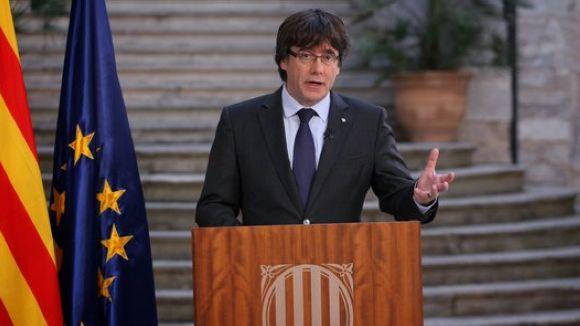 El govern demana una 'oposició democràtica' a l'aplicació del 155