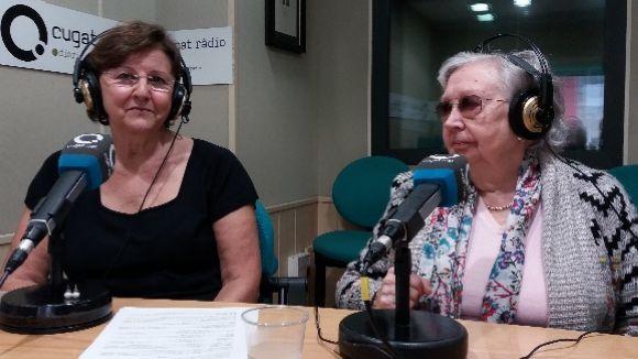 D'esquerra a dreta, Consòl Farràs i Maria Sentís