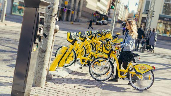 Imatge de les bicicletes de Moventia / Foto: Moventia