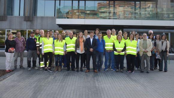 Sant Cugat dóna la benvinguda als 20 nous treballadors municipals provinents dels Plans d'Ocupació