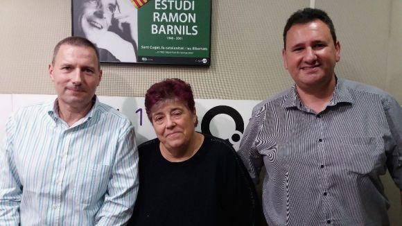 D'esquerra a dreta, Rafel Garcia, Rosa Maria Marquès Miquel Puig