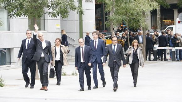 Presó incondicional per a Romeva i els altres set consellers destituïts que romanen a Catalunya