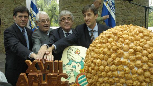 Àngel Casas a la celebració del 10è aniversari de Pericus Sant Cugat / Foto: Localpres