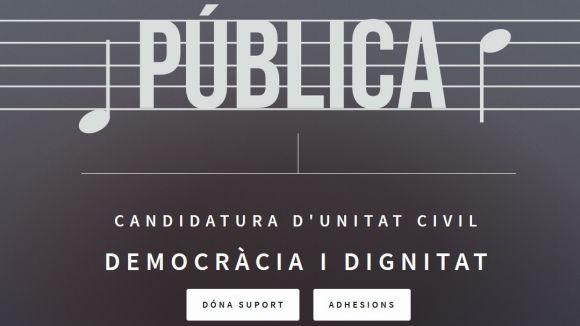 Representació local entre els impulsors sobiranistes de la llista unitària cívica per al 21-D