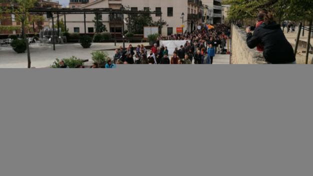 Manifestacions, mobilitzacions i un dinar popular, accions del Comitè de vaga a Sant Cugat