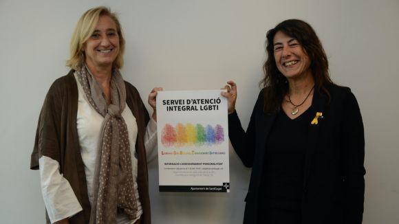 El Servei d'Atenció Integral LGBTI de Sant Cugat s'integra a la xarxa catalana