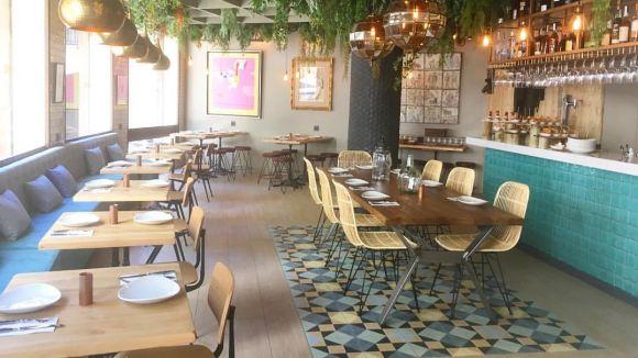 Imatge de l'interior del local / Foto: Facebook/RestaurantTeleferic