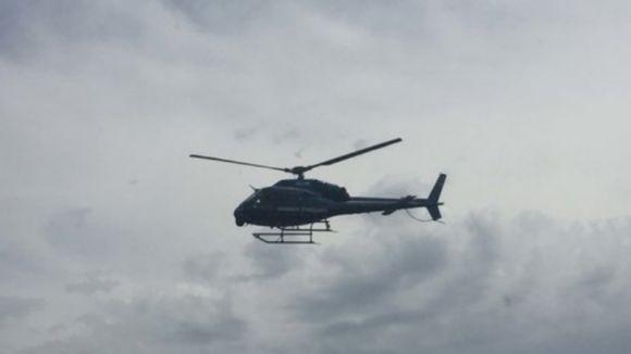 L'helicòpter que aquest dijous sobrevolava Sant Cugat eren Mossos de patrullatge preventiu