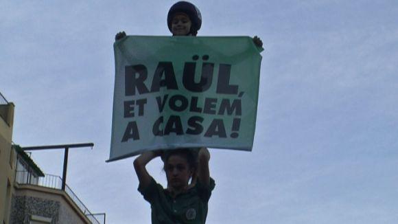 Clam de Sant Cugat a la manifestació de Barcelona per l'alliberament dels 'presos polítics'