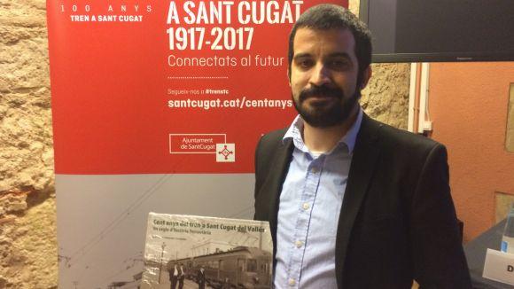Joan Carles Salmerón: 'L'arribada del tren és equiparable a l'arribada de la informàtica o Internet'