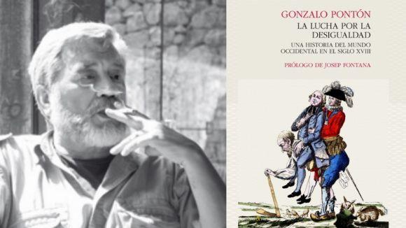 Gonzalo Pontón: 'Els rics d'avui són menys i més rics i els pobres d'avui són més i més pobres'