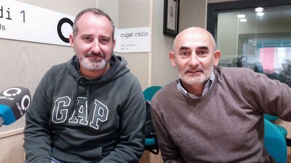 D'esquerra a dreta, Rafa Rodríguez i Xavi Requeno