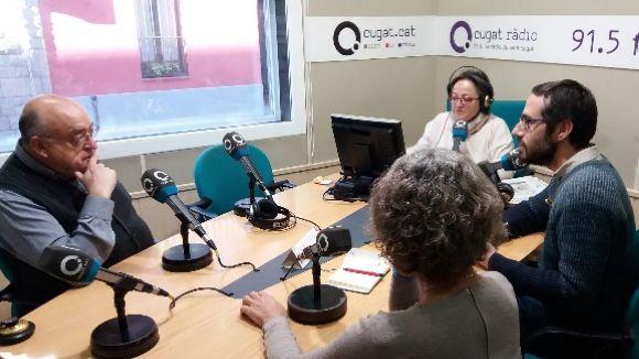 Els tertulians d'aquest dimarts amb la presentadora, Carme Reverte