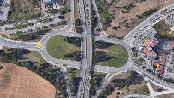Vista aèria de la rotonda / Foto: Google Maps