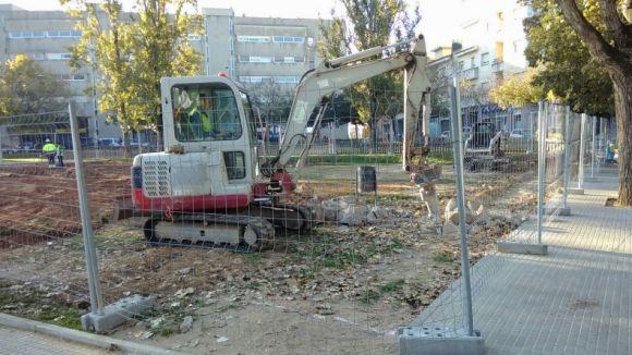 Comencen les obres de nous horts urbans al centre de la ciutat que entraran en funcionament a final d'any