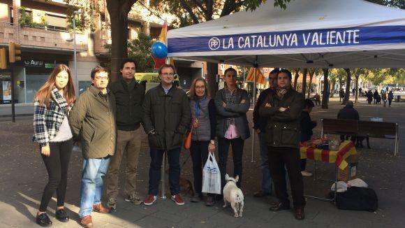 El PP crida els santcugatencs a votar amb seny per aturar la marxa d'empreses i reconciliar ciutadans