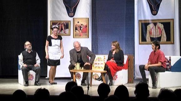 El crit a la llibertat de 'L'arrogància humana' tanca amb ple la 24a Mostra de Teatre de Valldoreix