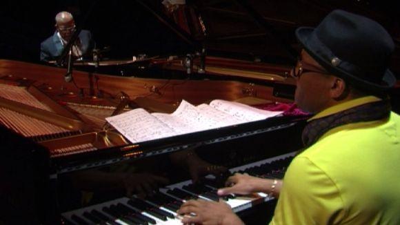 Chucho Valdés i Gonzalo Rubalcaba exhibeixen la seva sintonia musical al Teatre-Auditori