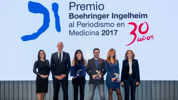 Ja es coneixen els guanyadors del 30è Premi Boehringer Ingelheim al Periodisme en Medicina