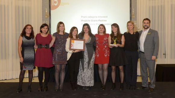 Cugat Natura rep un premi ACRA pel projecte de col·laboració intergeneracional Grans Padrins