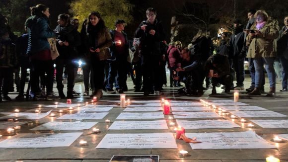 El Dia Internacional contra la Violència Masclista involucra la ciutadania contra aquesta xacra