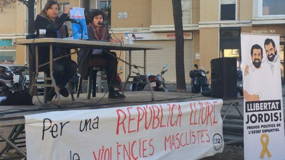 El CDR projecta una república lliure de violències masclistes