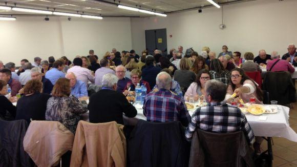 Sant Cugat i La Haba consoliden el seu agermanament amb un dinar al Casal Torreblanca