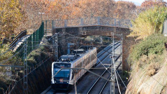 El pont de Can Gatxet es reobre a vianants i ciclistes per creuar la via dels FGC després de tres anys