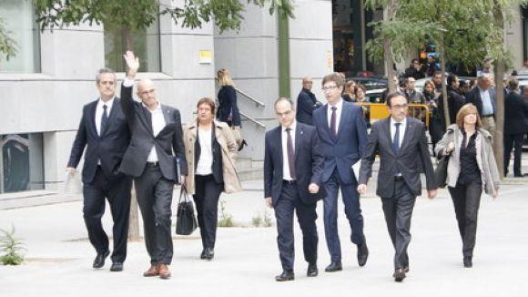El Suprem cita a declarar divendres Romeva, la resta d'exconsellers empresonats i a Sánchez i Cuixart